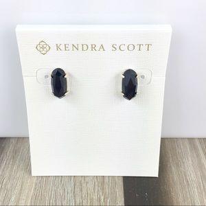 Kendra Scott Betty black gold earrings